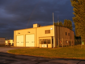Airport fire station 500